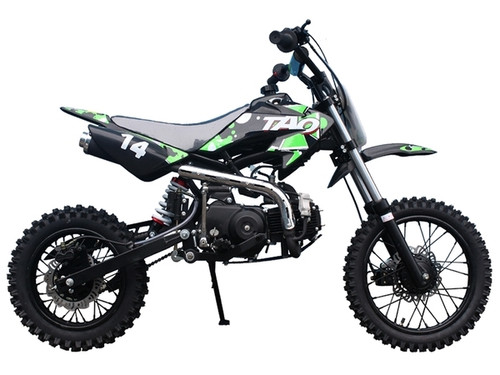 Taotao Db14 Semi-Automatic Off-Road Dirt Bike, Air Cooled, 4-Stroke, 1-Cylinder
