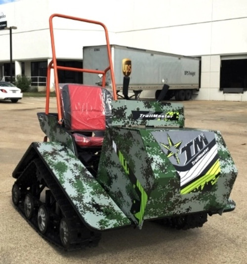 Trail Master Super Traxx 200cc Tracked Vehicle UTV , 6.5hp, Single Cylinder, 4-Stroke, Air Cooled