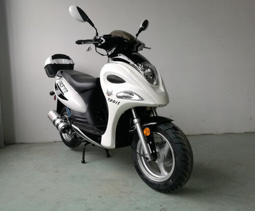 Vitacci Force 49cc Scooter, 4 Stroke, Single Cylinder, Air-Forced Cool