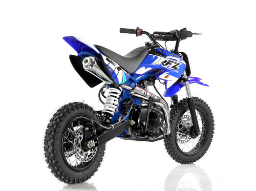 Vitacci DB-27 110cc Dirt Bike, Semi Automatic (4 Gears) And Kick Start