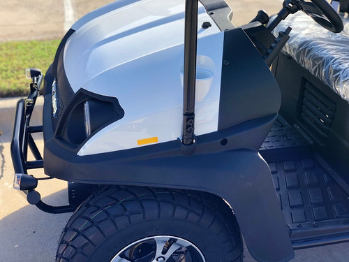 white- Fully Loaded Cazador OUTFITTER 200 Golf Cart 4 Seater Street Legal UTV - Fully Assembled and Tested