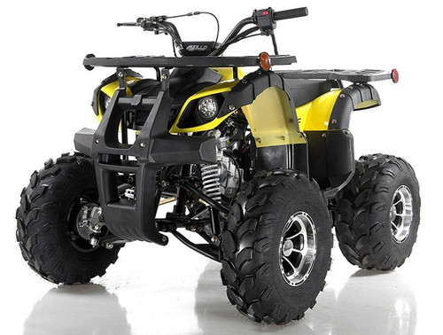 Apollo Focus-10 DLX 125cc ATV, Single Cylinder, Air Cooled, 4 Stroke 1Speed+Reverse