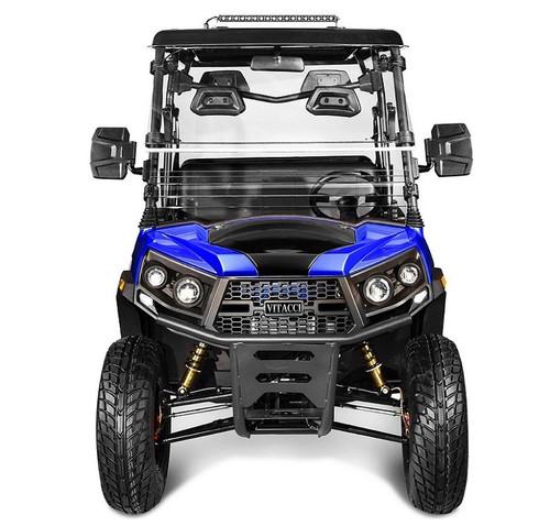 Blue - Vitacci Rover-200 EFI 169cc (Golf Cart) UTV, 4-stroke, Single-cylinder, Oil-cooled