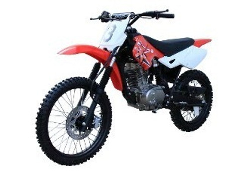 Coolster Deluxe 200cc MX Dirt Bike, 5-Speed Manual Clutch, Alloy Wheels, Rugged Frame Design, Electric / Kick Start