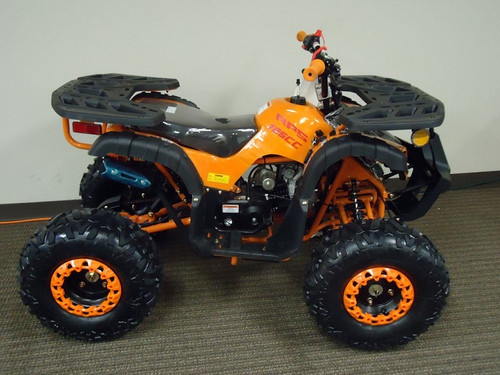 New Mini Desert 125cc Atv, Air Cooling, Single Cylinder, 4 Stroke, Electric Start - Fully Assembled and Tested