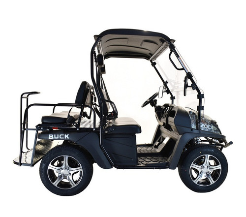 BLACK - MASSIMO BUCK 200X UTV, 177cc Four-Stroke, Single Cylinder - Fully Assembled and Tested