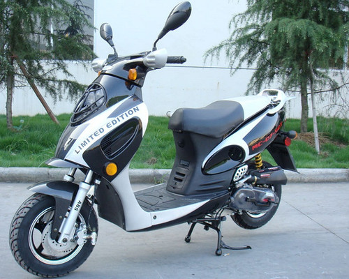 Roketa MC-07B 50cc (BAHAMA-50) Scooter, 4-Stroke, Air Cooled, Eletric/kick Start
