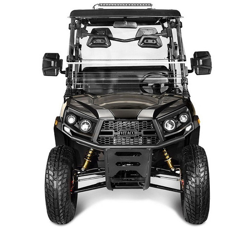 Black - Vitacci Rover-200 EFI 169cc (Golf Cart) UTV, 4-stroke, Single-cylinder, Oil-cooled