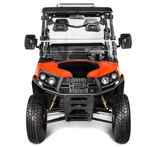 Orange - Vitacci Rover-200 EFI 169cc (Golf Cart) UTV, 4-stroke, Single-cylinder, Oil-cooled