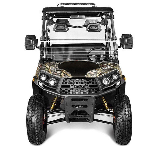 Tree Camo - Vitacci Rover-200 EFI 169cc (Golf Cart) UTV, 4-stroke, Single-cylinder, Oil-cooled