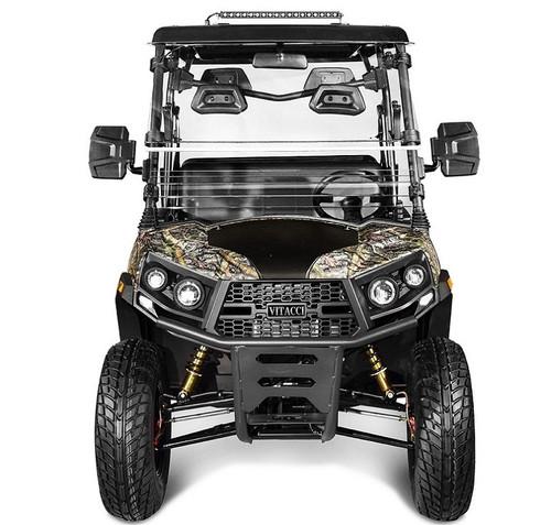 Tree Camo - Vitacci Rover-200 EFI 169cc (Golf Cart) UTV, 4-stroke, Single-cylinder, Oil-cooled