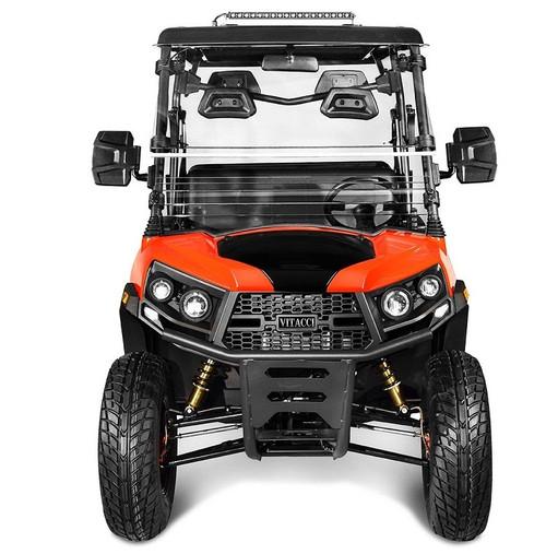 Orange - Vitacci Rover-200 EFI 169cc (Golf Cart) UTV, 4-stroke, Single-cylinder, Oil-cooled - Fully Assembled and Tested