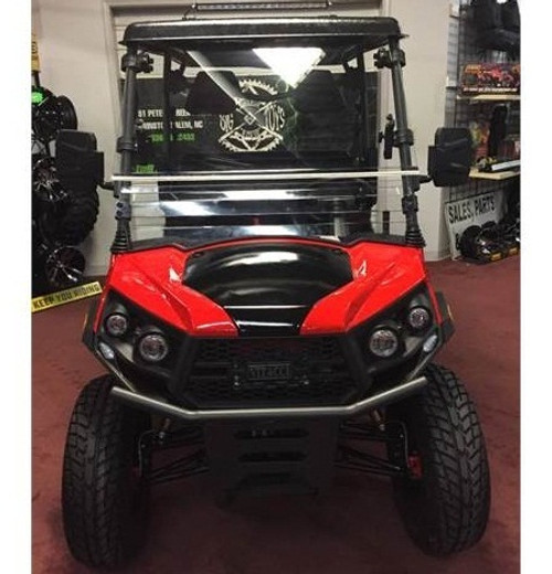 Red - Vitacci Rover-200 EFI 169cc (Golf Cart) UTV, 4-stroke, Single-cylinder, Oil-cooled