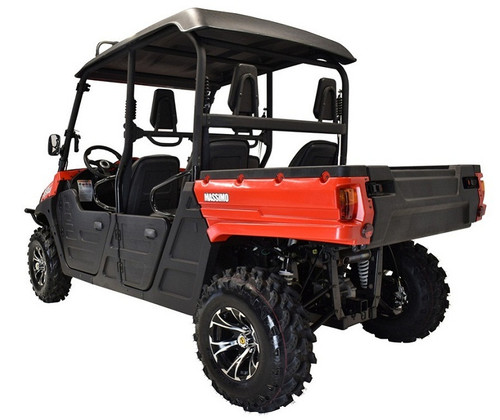 RED - MASSIMO MSU-850-5 UTV,Four Stroke 2 Cylinder V-Twin,Liquid Cooled
