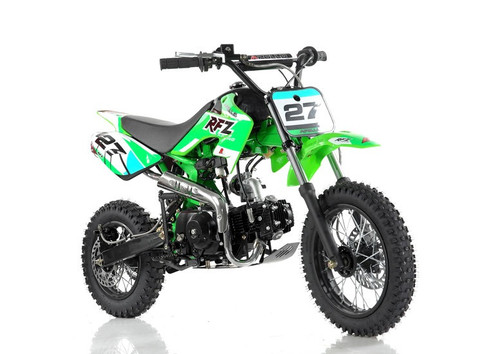 Vitacci DB-27 110cc Dirt Bike, Semi Automatic (4 Gears) And Kick Start - Fully Assembled and Tested