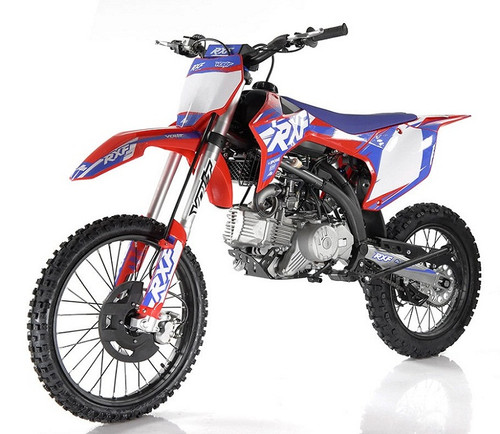 Apollo RXF 200 Freeride Max Manual Dirt Bike, Electric/Kicker Start