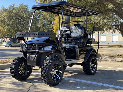 DYNAMIC ENFORCER LSV GOLF CART BLACK