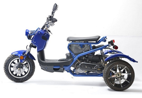Vitacci Ryker 50cc Trikes, Air Cooling, Single Cylinders