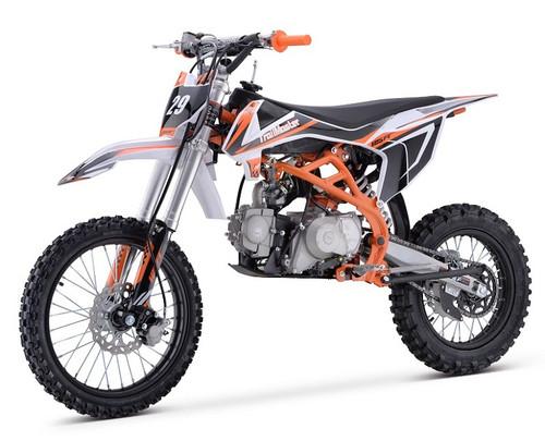 Trailmaster TM29 125cc Dirt Bike, 4-Stroke, Electric Kick Start