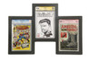 Triple Graded Comic Book Frame for CGC and CBCS Slabs