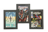 Triple Comic Book Frame 99% UV Safe Museum Edition, Our Best Selling Design Comic Frame