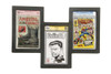 Triple Graded Comic Book Frame, can be hung in different ways