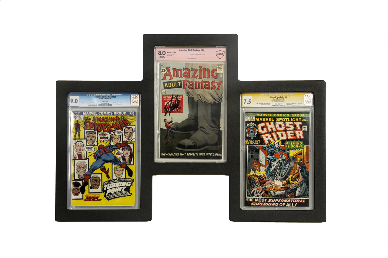 Triple Graded Comic Book Frame UV Safe Museum Edition