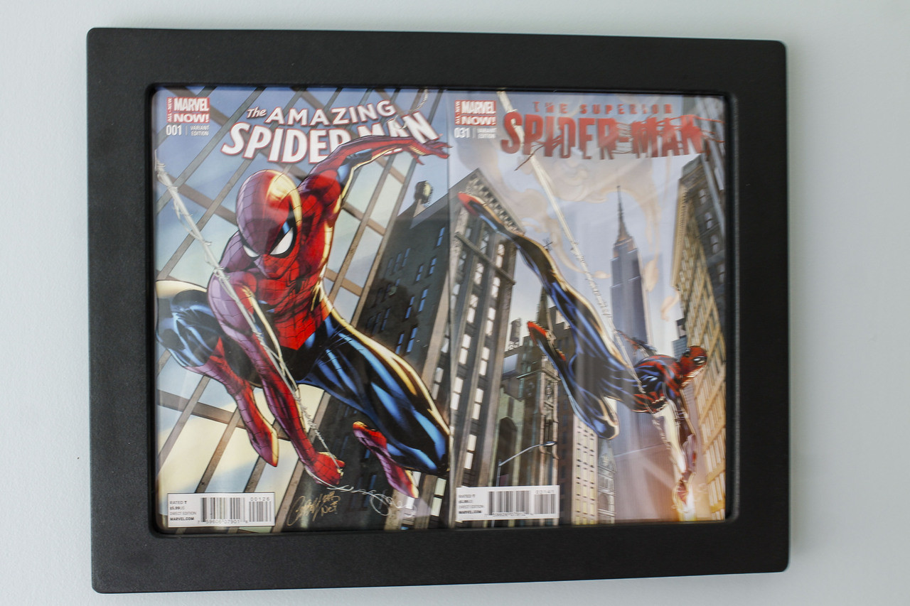 2Book Connecting Cover Comic Display