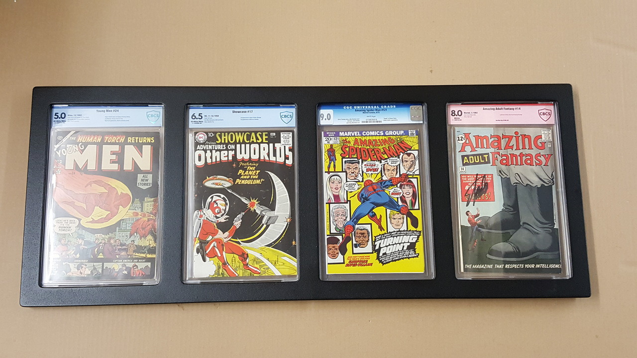 Inline4 Graded Comic Book frame