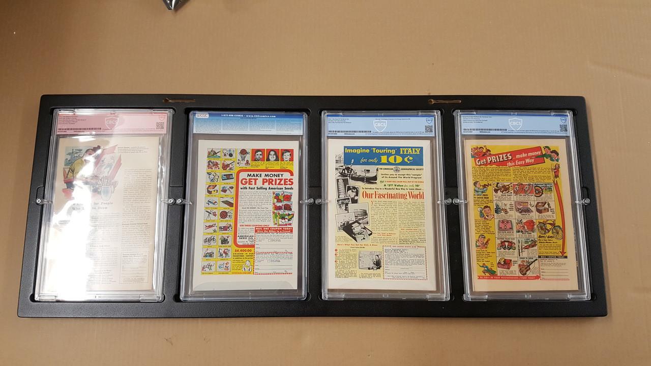 Inline4 Graded Comic Book frame Rear Mount Design