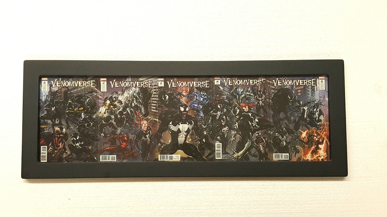 5Book Connecting Cover Comic Book Frame