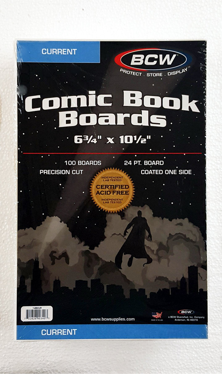 BCW Current Backer Board. The Collectors Resource