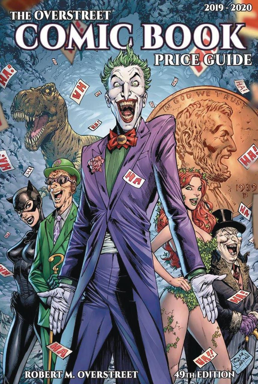 Comic Book Price Guide Overstreet 49th Edition 2019-2020  Joker