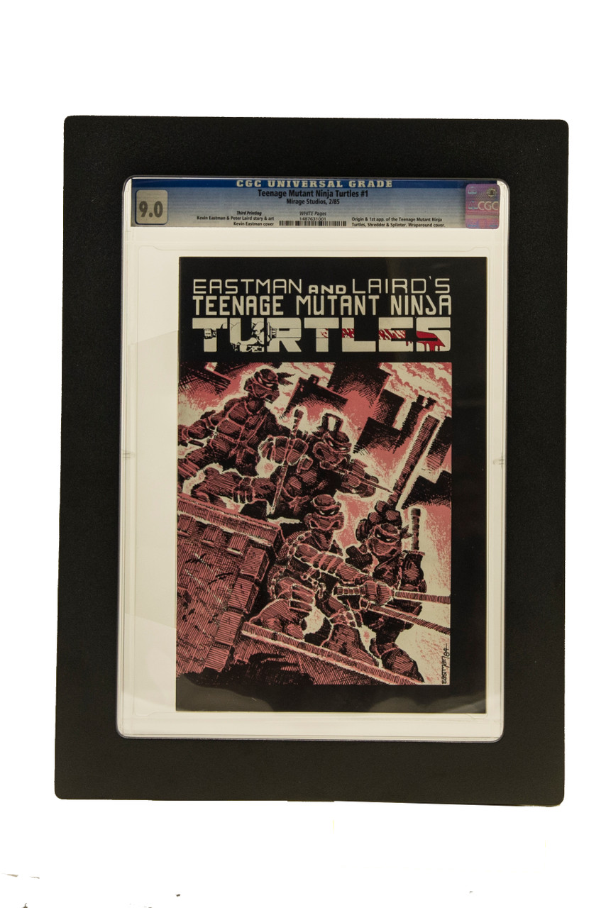 CGC Graded Magazine Frame. TMNT Comic, Sports Illustrated, Playboy