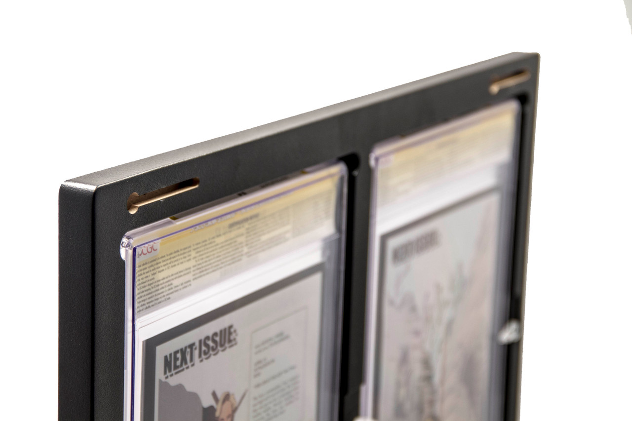 Inline2 Graded Comic Book frame Integrated Keyhole Slots for Safe and Secure Hanging