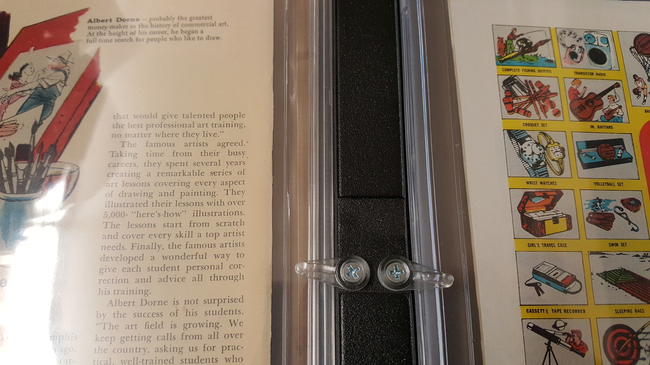 Swivel Tabs Make Switching out Books Simple