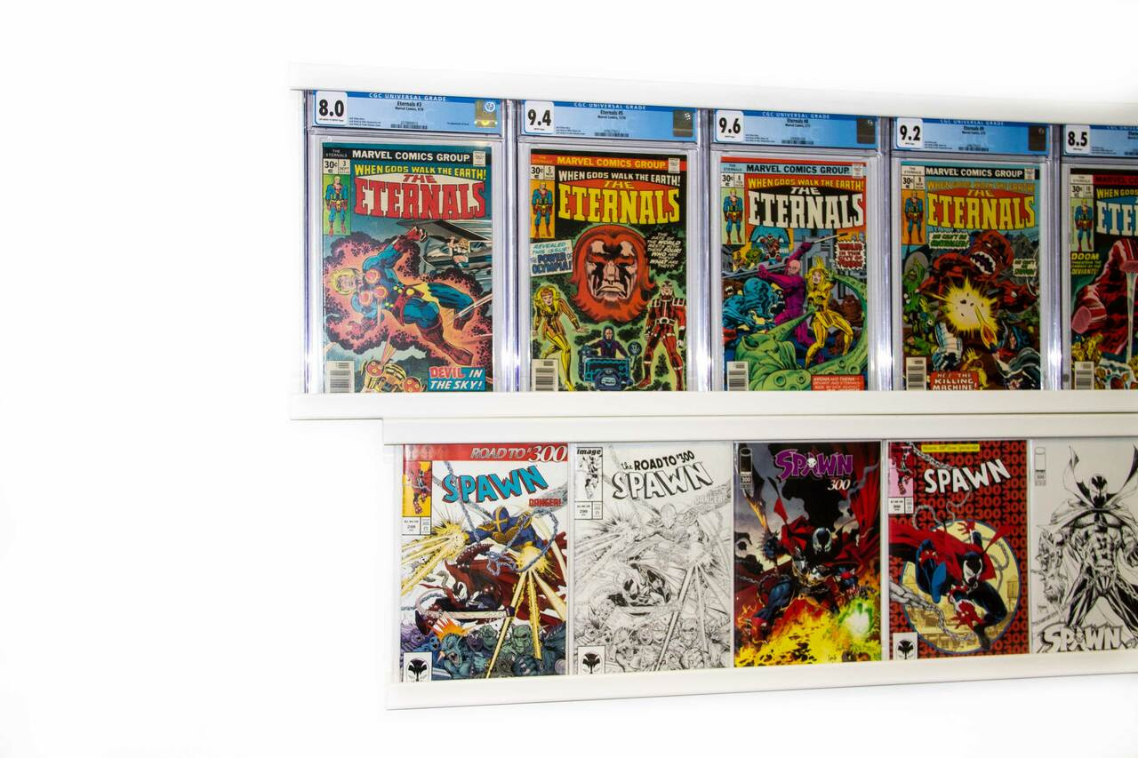 Graded Comic UV Safe Front Cover -Double Book