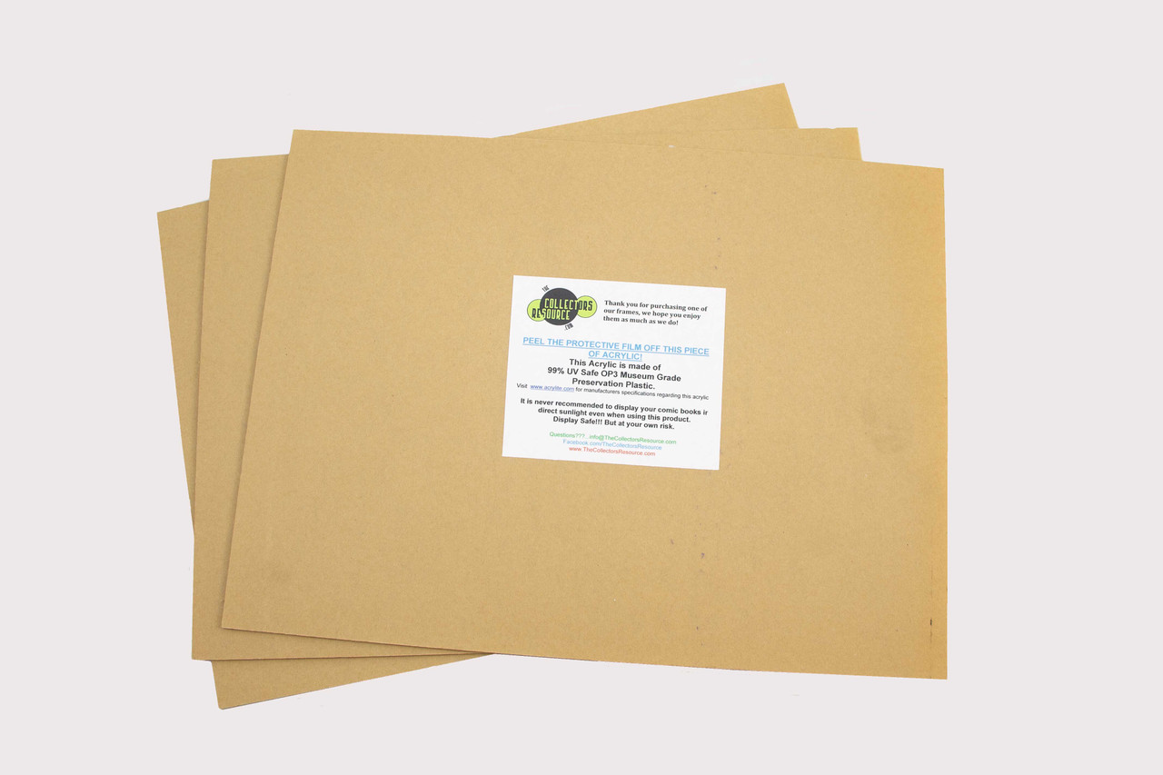 Comic Book UV Safe Front Cover -Double Book