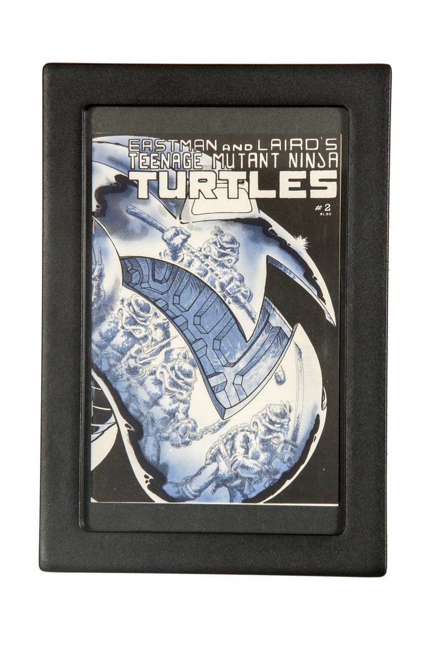 A loose Book Insert Set inside of a Graded Comic Book POD is a great way to frame and display any larger or odd sized comic book...like the Teenage Mutant Ninja Turtles 1, 2, 3 and 4!