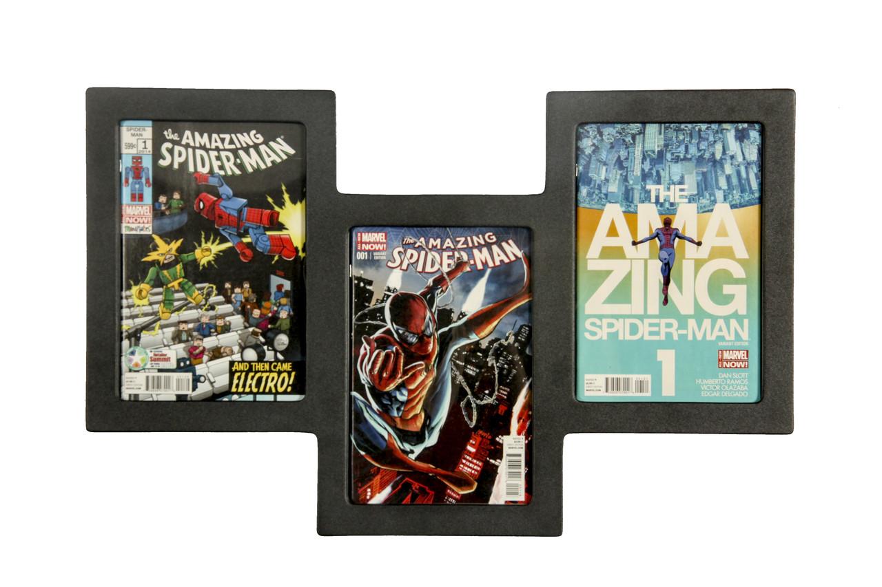 Triple Comic Frame, Staggered Design