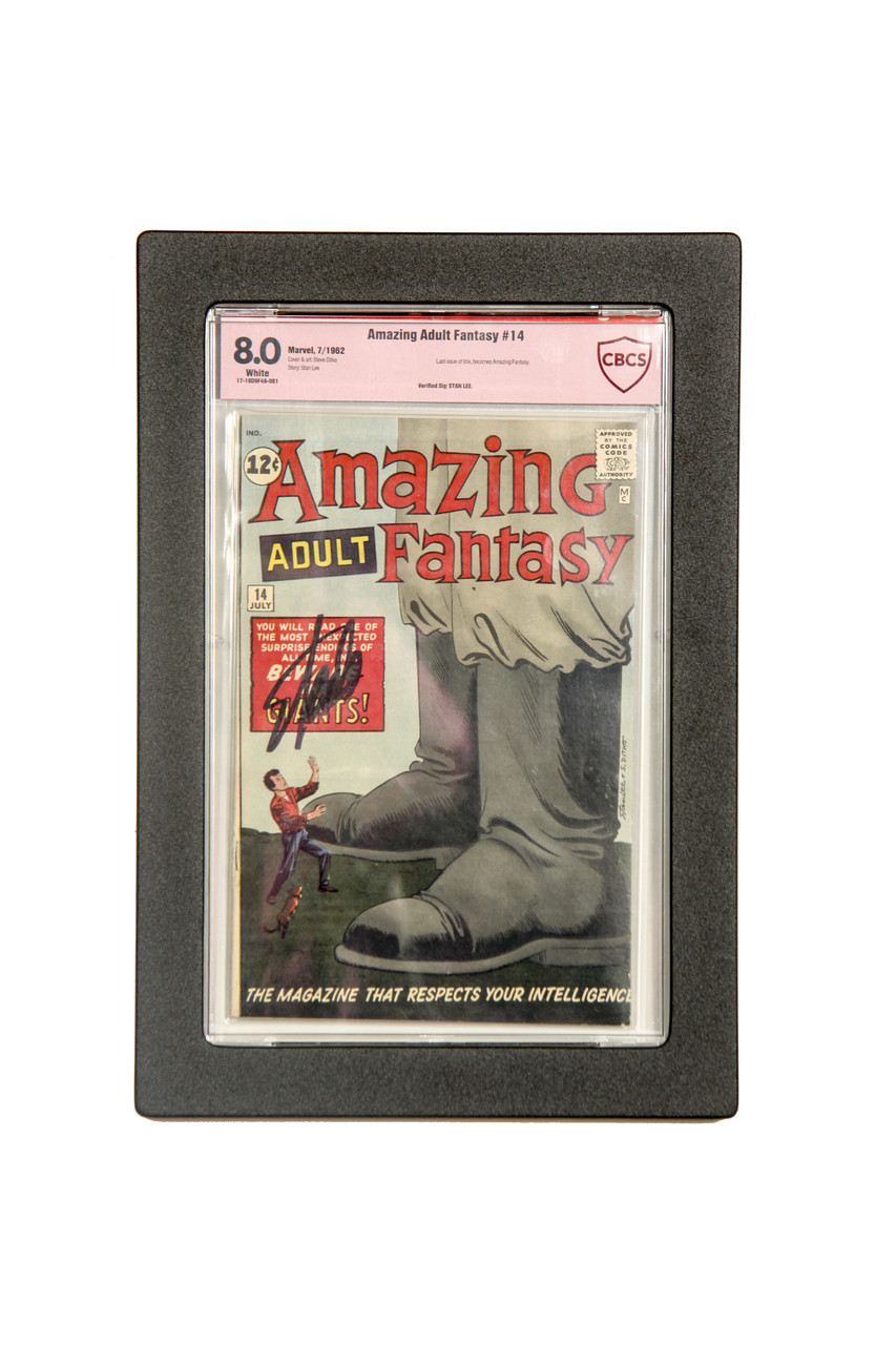 Graded Comic Book Frame Museum Edition