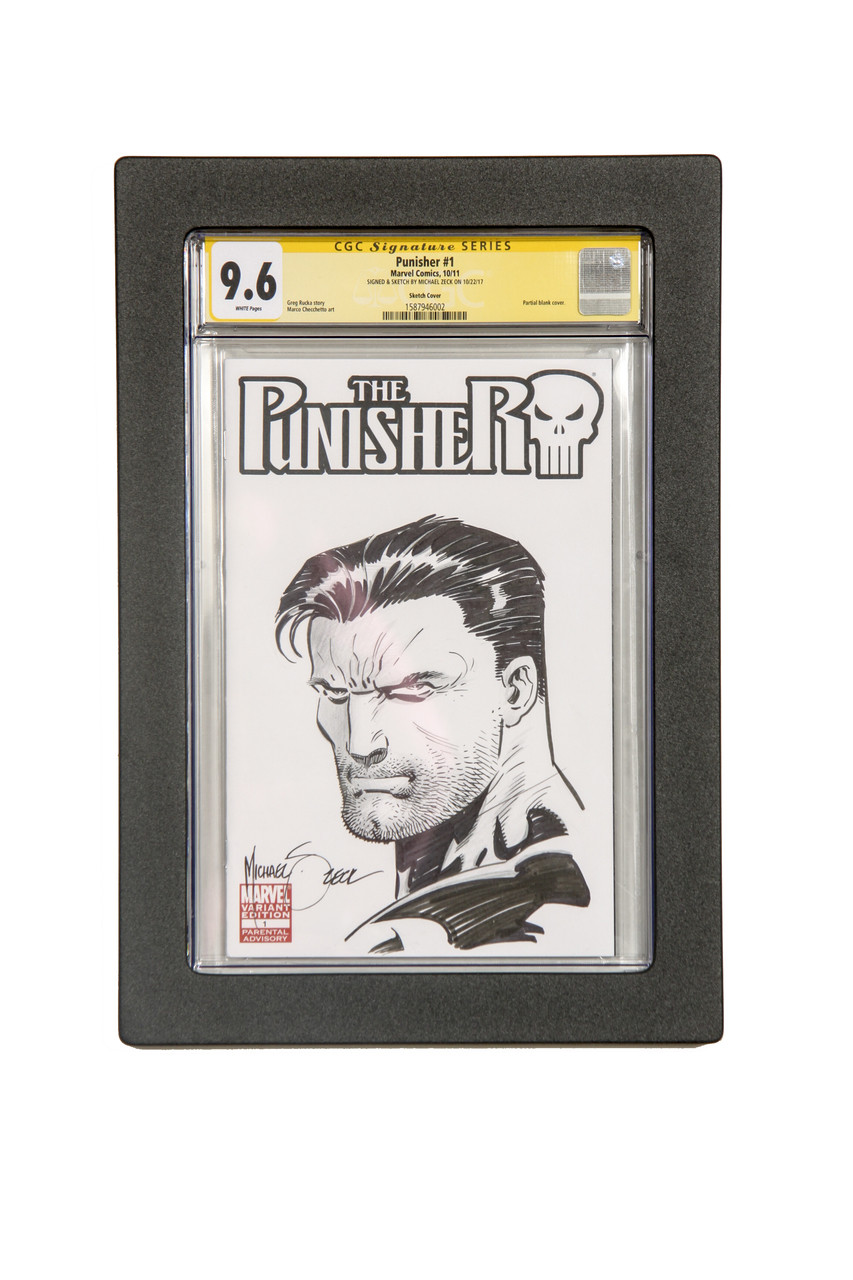 Graded Comic Book Museum Edition Frames for Signature Series