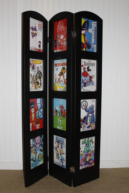 Tri-Fold Comic book Museum Edition Display 99% UV Safe for Your Comic Books
