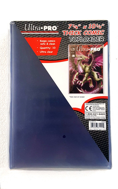 Ultra Pro Comic Book Top Loader. The Collectors Resource