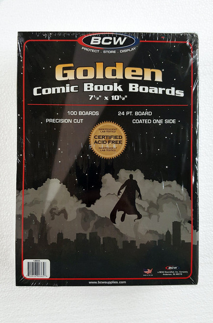 BCW Golden Age Backer Board. The Collectors Resource