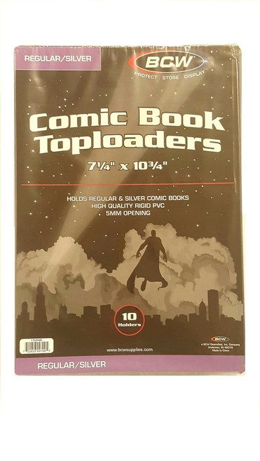 Silver Age Size Topload Comic Book Holder. The Collectors Resource