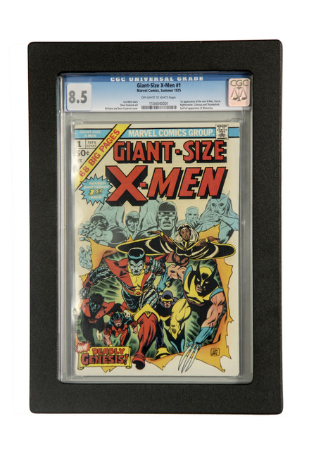 Comic Book Frame for Thick Graded Comic Books. Golden Age, Giant Size Comics. CGC and CBCS