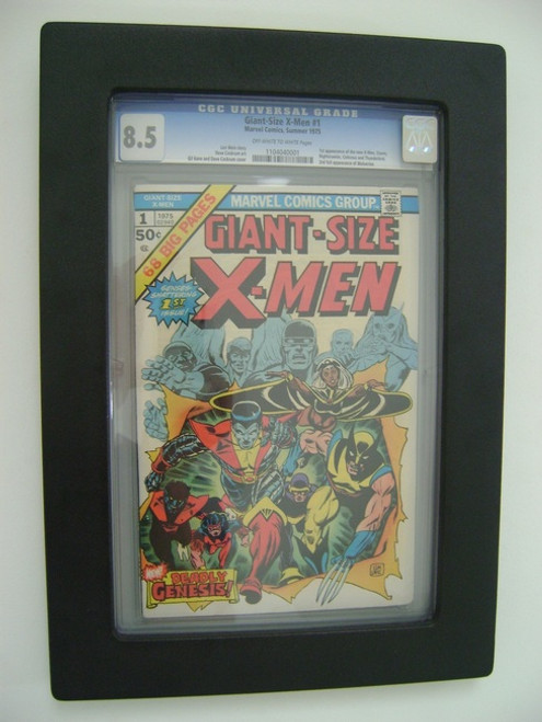 Comic Book Frame for Graded Golden Age Comics, CGC and CBCS