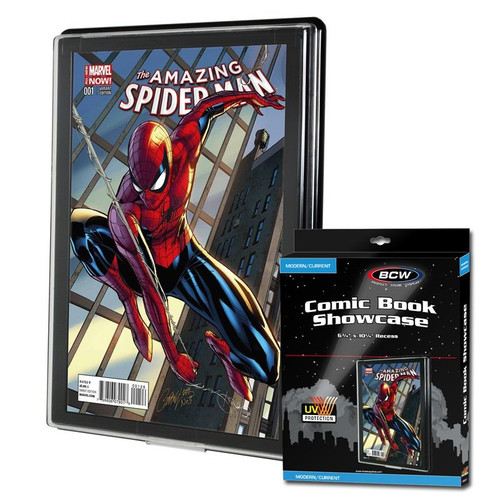 BCW Comic Book Showcase-UV Protected.  The Collectors Resource