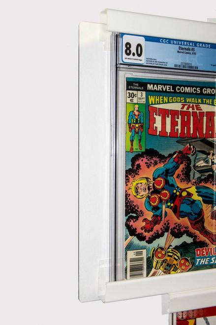 Graded Comic UV Safe Front Cover -Triple Book